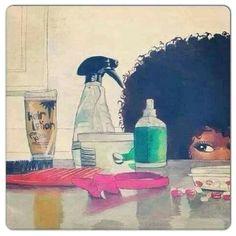 Natural hair art by Kume Ozoro Natural Hair Art, Pelo Natural, Natural Hair Journey, Natural Hair Styles, Natural Kids, Au Natural, Going Natural, Black Girl Art, Black Women Art