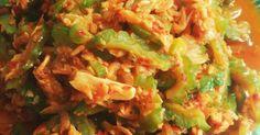 Resep Oseng Pare Udang Rebon favorit.