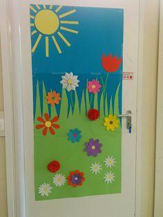Spring Door Decoration Preschool Spring Spring Door Doors