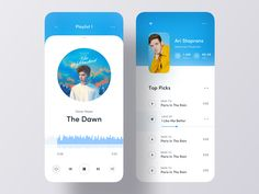Music iOS App UI by Creative Studio Best Picture For fashion App Design For Your Taste You are looking for something, and it is going to tell you exactly what you ar Ux Design, Ios App Design, Design Layout, Flat Design, App Design Inspiration, Mobile Ui Design, Creative Studio, Dashboard Ui, Apps