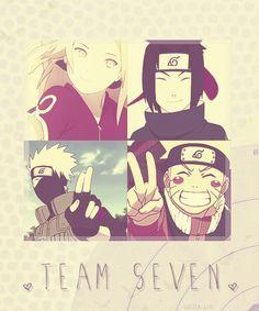 Naruto Team 7 #sasuke #sakura #kakashi