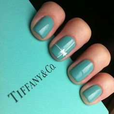 Tiffany & Co. Inspired.   Probably a very close second when it comes to my favorite color :)