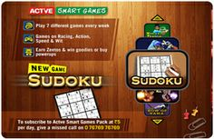 Play Your Favorite Game Sudoku on New Connection Starts from Order Now! Dish Tv, Digital Tv, Played Yourself, Games To Play, Connection, India, Goa India