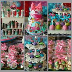 Serunyaa BOW PARTY with our dessert table package. 7th Birthday Party Ideas, 11th Birthday, Unicorn Birthday, Birthday Bash, Jojo Siwa Birthday Cake, Jojo Bows, Bday Girl, Joko, Birthdays