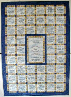 Bible Verse Quilt. Beautiful   wonderful idea! I love this. Embroidery  Stitches 95ad7f4fd