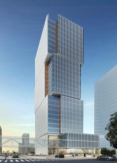 Al Hilal, Bank Office Tower - Abu Dhabi, UAE | © Goettsch Partners…