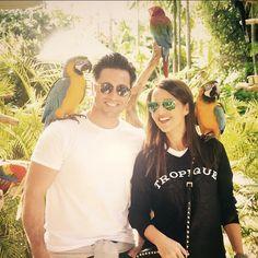 David Bustamante y Paula Echevarría de vacaciones en Miami y Cuba,