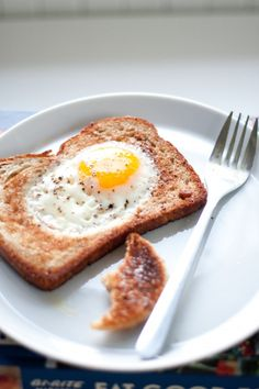 egg in toast