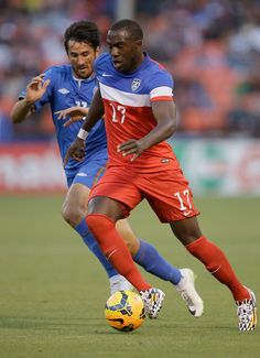 Jozy Altidore #17 of the United States