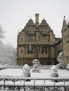 ENGLAND: Trinity college, Oxford. I think it would also make a great house.
