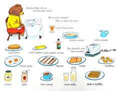 Kenny Bear Breakfast