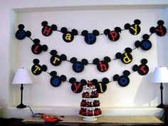 Mickey mouse party ideas - JustMommies Message Boards