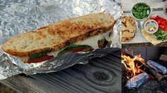 carolynn's recipe box: Campfire Sandwiches