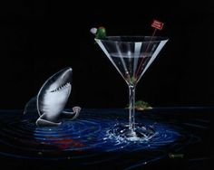 "FOR DEAN!  las vegas artist godard   Michael Godard ""Card Shark""Gambling Poker Las Vegas Art   eBay"