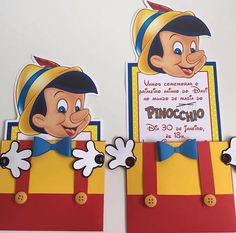 Pinocchio theme wedding ideas