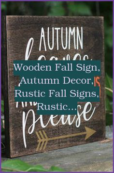 Decorate your house with function. Timeless and neutral wood signs. #home #All Things Fall... Wood Signs For Home, Wood Home Decor, Custom Wood Signs, Home Signs, Router Woodworking, Woodworking Skills, Easy Woodworking Projects, Outdoor Sheds, Fall Signs
