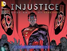 This is it: the final year of INJUSTICE:GODS AMONG US, leading into the storyline of the hit videogame! Having defeated the Green Lantern Corps, the forces of magic...