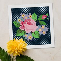 Beautiful canvases to work on this #spring! 🌻 #HappyFriday! Needlepoint Designs, Needlepoint Kits, Needlepoint Canvases, Happy Friday, Canvas Size, Create Your Own, Stitch, Rose, Spring