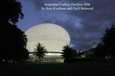 Галерея Serpentine Павильон 2006 разработан Рем Колхас и Сесил Balmondс  Фотография © 2006 Джон Оффенбах