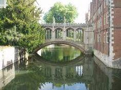 Bridge of Sighs Cambridge -