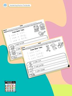 Handwriting Practice allows students to work on their copying skills, as well as their reading skills. It will help to improve your student's handwriting. Perfect for this time of year! . . . . #teachingbiilfizzcend  #teachingbiilfizzcendproducts #kindergarten  #firstgrade #teacherspayteachers #tpt #tptseller #tptteachers #iteachtoo #iteachfirst #teachersofig #teachersfollowteachers #iteachk #earlychildhood #earlychildhoodeducation First Grade Writing, Teaching First Grade, First Grade Math, Reading Fluency, Reading Passages, Reading Skills, Homeschool Kindergarten, Kindergarten Writing, Thing 1