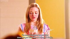 In honor of the tenth anniversary of Mean Girls, and we're celebrating with some GIF appreciation of Amanda Seyfried's Karen. Best Mean Girls Quotes, Mean Girls Meme, Logan Lerman, Shia Labeouf, Amanda Seyfried, Top Movies, Great Movies, Karen Mean Girls, Karen Smith
