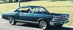 Ford Fairlane, Station Wagon, Plymouth, Banks, Muscle Cars, Cool Cars, Classic Cars, American, Nice
