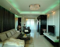 TV backdrop of choice must be combined with TV cabinet, coffee table, sofa and curtains to choose the color, in general