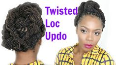 Twist it Up: Loc Hairstyle Tutorial/Jungle Barbie