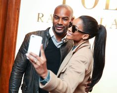 Tyson Beckford and Ciara at the Ralph Lauren Men's and Polo presentation,  F/W 2015