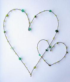 Green hearts by Ma.rysia, via Flickr