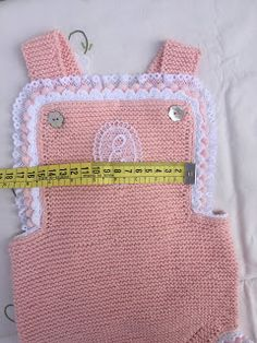 Color Rosa Bebe, Knit Crochet, Angeles, Lunch Box, Rompers, Knitting, Baby On The Way, Crochet Monkey, Knit Jacket
