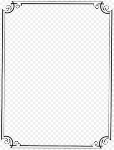Paper Picture Frames, Emoji Clipart, Wedding Borders, Wedding Invitation Paper, Vintage Borders, Black And White Frames, Image Icon, Outline Drawings, Borders And Frames