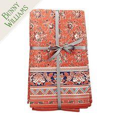 """Bunny Williams Kitchen Hearth Tablecloth $89-$99. Rectangle: 72"""" X 120"""" Square: 84"""" Sq"""