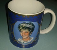 Diana The Peoples Princess, Princess of Wales 1961 -1997 Commemorative Mug NEW in Collectables, Royalty, Princess Diana | eBay