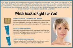 Give yourself a facial with our masks!