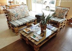 eco friendly pallet furniture