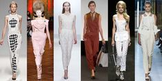 Women's Fashion Pants Trends For Spring Summer 2013