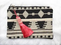 This tribal handmade clutch is both practical and colourful, perfect for everyday use. Great for storing essentials as it is big enough to fit an iPad/ tablet as the soft lining protects the screen. Adds a colourful edge to any outfit! Size: x Gifts For Women, Gifts For Her, Handmade Clutch, Clutch Bag, Boho, Coin Purse, Fashion Accessories, Etsy, Wallet