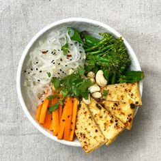 Zen Ramen Delicious Vegan Noodle Bowl - Messy Veggies
