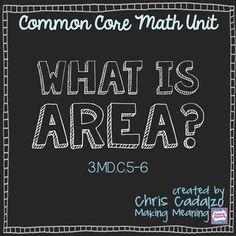 Common Core Area Unit: What is Area?