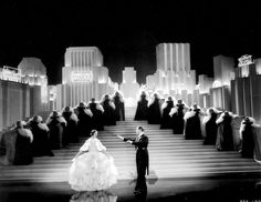 1930's Art Deco film set: Broadway Melody of 1938