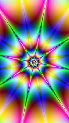 The Galaxy Note 2 Wallpaper I just pinned! Rainbow Colors, Vibrant Colors, Colours, Psychedelic Art, World Of Color, Op Art, Fractal Art, Optical Illusions, Wallpaper Backgrounds
