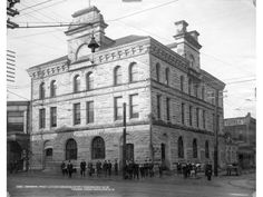 The General Post Office at Granville and Pender in 1897. Richard H. Trueman/Vancouver Archives AM54-S4-: Bu P349.