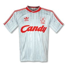 88-89 Liverpool Away Shirt - Grade 8