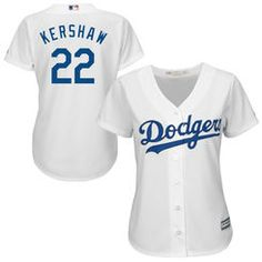 bb778829259 Clayton Kershaw L.A. Dodgers Majestic Women s 2015 Cool Base Player Jersey  - White Dodgers Gear