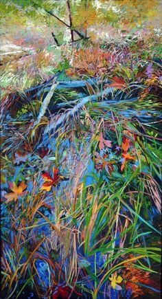 """Saatchi Online Artist: Ellen Dittebrandt; Acrylic, 2006, Painting """"Garden of Grass"""""""