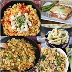 Delicious pasta recipes that speak to the Italian in all of us.