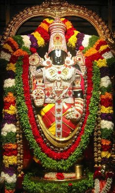 Lord Venkateswara: God Vishnu's Incarnation (Tirupati balaji) Lord Vishnu, Lord Durga, Ganesh Lord, Durga Maa, Lord Murugan Wallpapers, Lord Krishna Wallpapers, Lord Shiva Hd Wallpaper, Mobile Wallpaper, Lord Ganesha Paintings