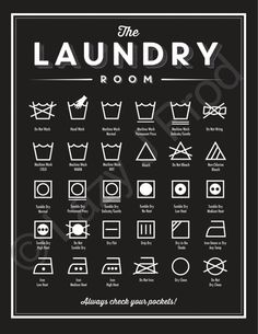 The Laundry Room print Mailed Print Laundry room decor | Etsy